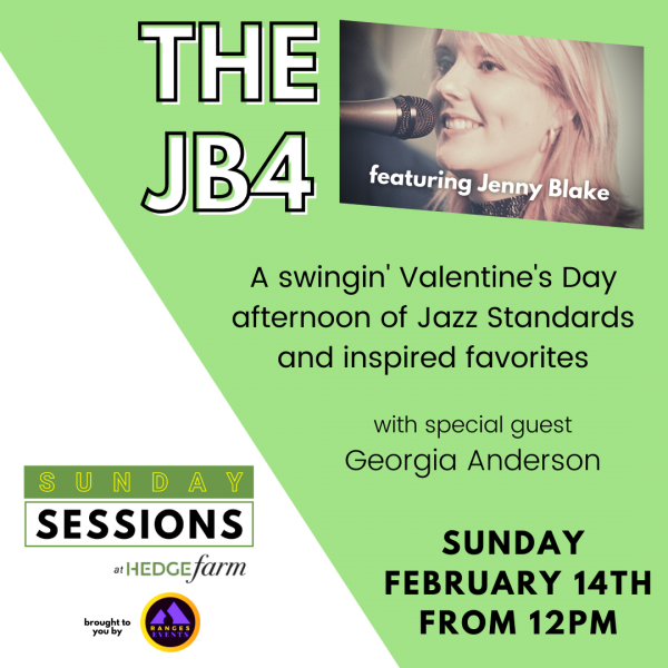 JB4 at the Valentine's Day Sunday Session at Hedge Farm